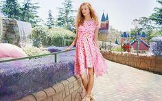 Lady Petrova 'Candles in the Rain' dress in Minna Gilligan print. www.ladypetrova.com