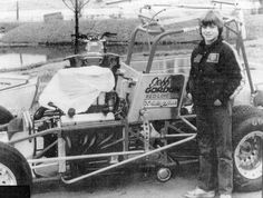 """"""" In honor of the man Jeff Gordon who at age 15 could wheel a sprint car with the best of them. Enjoy your retirement and come play in the dirt with us…"""" Sprint Car Racing, Dirt Track Racing, Auto Racing, Indy Cars, Rc Cars, Old Race Cars, Vintage Race Car, Go Kart"""