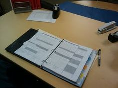 amzing organization idea - info on using the binder for everything teaching related