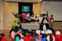 La escuela primaria en sus actividades de acción de gracias
