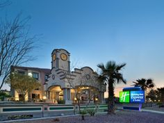 Tucson (AZ) Holiday Inn Express Hotel & Suites Tucson Mall United States, North America Ideally located in the prime touristic area of Tucson City Center, Holiday Inn Express Hotel & Suites Tucson Mall promises a relaxing and wonderful visit. The hotel offers a wide range of amenities and perks to ensure you have a great time. Free Wi-Fi in all rooms, 24-hour front desk, facilities for disabled guests, meeting facilities, business center are just some of the facilities on offe...