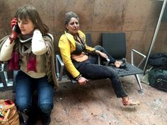 The Story Behind the Iconic Photo of a Brussels Airport Attack Victim