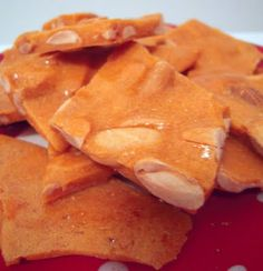 Microwave Peanut Brittle - this is SO easy & tastes great!!!