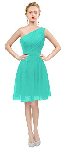 ThaliaDress Womens Short One Shoulder Bridesmaid Dresses Prom Gown >>> Visit the image link more details. (This is an affiliate link) One Shoulder Bridesmaid Dresses, Evening Dresses, Prom Dresses, Amazon Dresses, Turquoise Dress, Blue Cocktail Dress, Wedding Tips, Fashion Dresses, Nature Prints