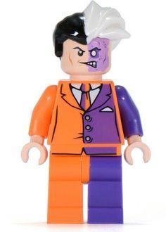 Two Face - Lego minifigure