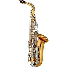 Yamaha YAS-26 Standard Alto Saxophone Lacquer with Nickel Keys - http://notnewcenter.com/saxophones/saxophone/yamaha-yas-26-nickel-keys/