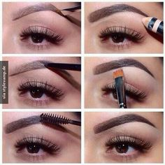 Die perfekten Augenbrauen