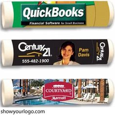 Everyone needs lip balm. It's also one of those promotional products customers tend to reorder on a regular basis.