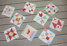 Diary of a Quilter - a quilt blog: New Quilt Blocks and tutorials
