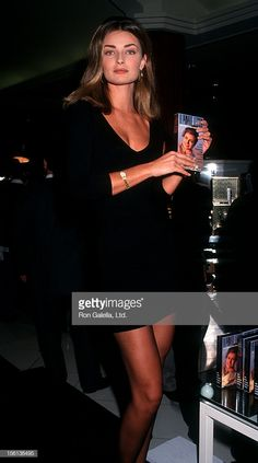 """Model Paulina Porizkova attending """"Paulina Poirzkova In-Store Appearance"""" on November 1991 at Bullock's in Sherman Oaks, California. Get premium, high resolution news photos at Getty Images Sherman Oaks California, Paulina Porizkova, 90s Models, Stunningly Beautiful, Supermodels, Muse, Classic, Hair, Pictures"""