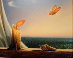 Vladimir Kush (again! I'm starting to love this artist) Vladimir Kush, Magritte, Willem De Kooning, Photo D Art, Surrealism Painting, Jackson Pollock, Surreal Art, Fantasy Art, Concept Art