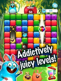 Fruit Mania App by TeamLava. Elimination Puzzle Apps Game.