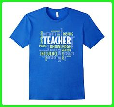 Mens Elementary School Teacher Tshirt For Teachers XL Royal Blue - Careers professions shirts (*Amazon Partner-Link)