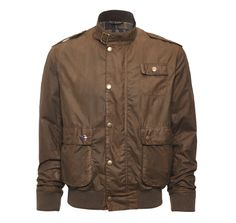 Flyer Waxed Jacket | Barbour International | Mens | EU Barbour