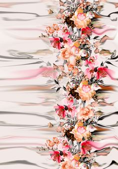 Floral Design by MerveAruta Royalty-Free Stock Pattern