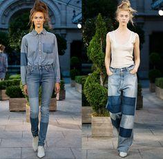 Cheap Monday 2014 Spring Summer Womens Runway Collection - Mercedes-Benz Fashion Week Stockholm Sweden Vår Sommar: Designer Denim Jeans Fash...