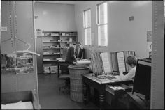 319520PD: Accessions Section, Library and Information Service of Western Australia, June 1969. Serials workroom  https://encore.slwa.wa.gov.au/iii/encore/record/C__Rb3430665
