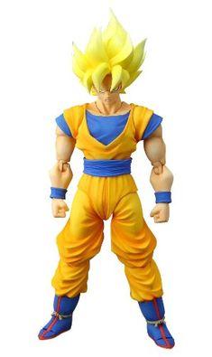 "Amazon.com: Bandai Tamashii Nations Super Saiyan Son Goku ""Dragonball Z"" S.H. Figuarts Action Figure....nik wants"