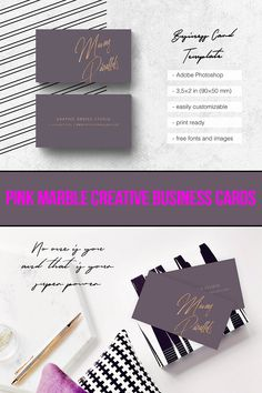Get this beautiful pink marble creative business cards. Click to get them today! Marble Business Cards | Marble Business Cards Design | Marble Business Cards Pink  | Business Cards Design | Business Cards Creative | Business Card Ideas | Business Cards DIY | Unique Business Cards | Business Cards Template | Business Cards Modern | Business Cards Real Estate | Business Card Photography | Business Card Elegant | Etsy Marketing | Etsy Business Etsy Business Cards, Gold Business Card, Real Estate Business Cards, Unique Business Cards, Business Card Design, Creative Business, Visiting Card Templates, Free Business Card Templates, Photography Business Cards