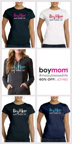Boymom embraces the journey of moms raising boys. It's our badge of honor! For a limited time save 60% OFF all Boymom apparel during our Holiday Sale. Use code JOY60 when you checkout today. Shop Now!