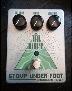 For your consideration is this Stomp Under Foot 1972 Tri Muff V6. A Rare Bird indeed! It's been barely used and is in Excellent Condition. No Box. Shipped USPS Priority Insured. Please message me any questions.