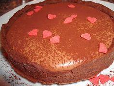 Schokoladentartes mit Mousse au Chocolat: Muffins, Cupcakes & Tartelettes Mousse, Muffins, Cupcakes, Tiramisu, Pudding, Ethnic Recipes, Desserts, Food, Small Cake