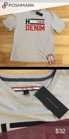 NWT Tommy Hilfiger Denim grey T. Brand new Spring '18 Tommy Hilfiger Shirts Tees - Short Sleeve