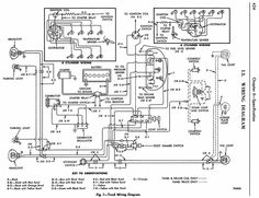 wiring diagram for 1940 ford wiring pinterest diagram and ford rh pinterest com 1956 t bird wiring diagram 1955 Thunderbird Wiring Diagram