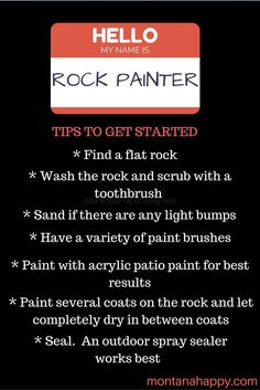 Rock Painting ideas, tips, resources and art ideas. Click on to find everything you need to get started.