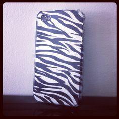 Capa Rígida de Zebra para iPhone 4/4S