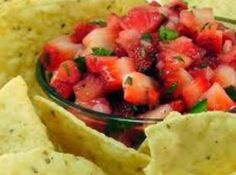 Strawberry Salsa Recipe | Just A Pinch Recipes