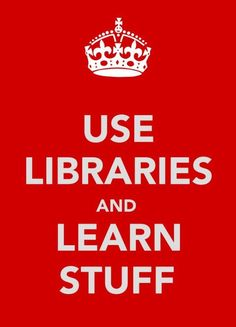 Libraries! Learn!