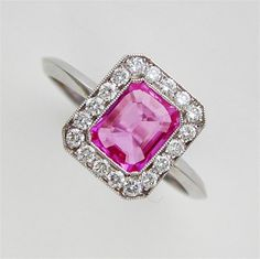 Jewelry Pink Sapphire Ring from Bentley