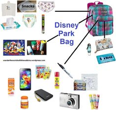 While getting things ready for our February 2015 trip, I wanted to put together a short post about what we take in our park bag. I normally pack our bag before we leave home. We use a Trans/Janspor. Disney World 2017, Disney World Packing, Disney World Vacation Planning, Disney World Parks, Disney Planning, Disney Vacations, Vacation Trips, Trip Planning, Disney Worlds