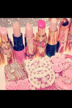 Pink!Pink!Pink!!! Bebe'!!! Shades of pink Chanel!!!