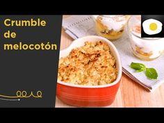 Crumble de melocotón (Receta) | Los dulces de Silvia - YouTube