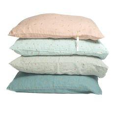 minimuhuu • Organic linen print pillow case. Grey, copper stars • frontpage, m_op.cushionstar