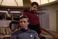Wesley Crusher, Having A Crush, Star Trek, Blue Eyes, Handsome, Stars, Starship Enterprise, Sterne, Star