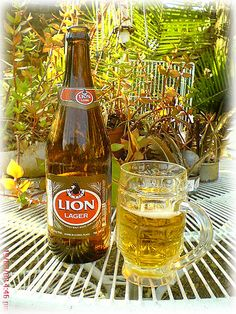 South Africa-Lion Lager - my pa se favourite South Afrika, Beers Of The World, South African Recipes, Out Of Africa, African Safari, My Land, Zulu, African History, Africa Travel