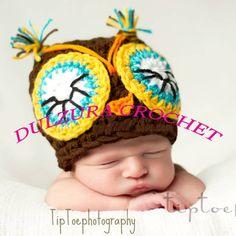 Gorros Tejidos Crochet Bebés Niñas Niños Baby Shower Bfn - $ 150.00 en MercadoLibre