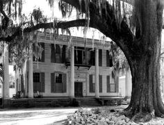 The Smith-Wardlaw House in Madison, Florida, was built circa It was added to the National Register of Historic Places in 1972 and is currently used as a conference center by North Florida Community College. Vintage Florida, Old Florida, State Of Florida, Florida Home, Abandoned Houses, Abandoned Places, Old Houses, Abandoned Mansions, Louisiana Plantations