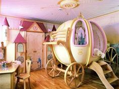 . Dream Bedroom, Fantasy Bedroom, Dream Rooms, Magical Bedroom, Future Daughter, Daughters Room, Granddaughters, Future Baby, Future House