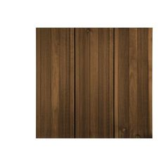 Planche bois pin Kuhmo, marron, L.208 x l.14.5 cm x Ep.27 mm