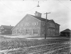 Wallingford fire station, 1914