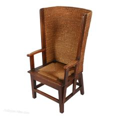 This late to early century antique Orkney chair is available to buy now online or in store. Outdoor Chairs, Outdoor Furniture, Outdoor Decor, Antique Chairs, Rocking Chair, Armchair, Victorian, Antiques, Affair