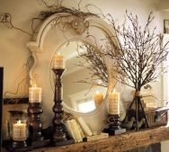 fantastic mantle decor