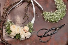 Flowers to wear - necklaces