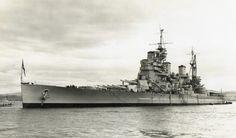 HMS Duke of York, a King George V-class battleship, famous for sinking the Scharnhorst.[2218 x 1301]