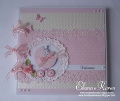 New Baby Cards Photo Mini Albums 43 Ideas Mini Album Scrapbook, Scrapbook Cover, Photo Album Scrapbooking, Baby Scrapbook, Scrapbook Cards, Diy Crafts For Girls, Diy And Crafts, Paper Crafts, Baby Mini Album