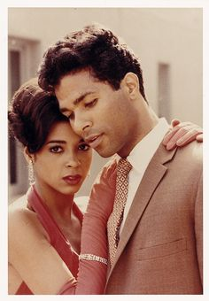 """The original movie, """"Sparkle"""" highlighted Phillip Michael Thomas and Irene Cara. Two beautiful people. African American Movies, Michael Thomas, Vintage Black Glamour, Black Actors, Black History Facts, Movie Couples, Love Movie, Before Us, Cultura Pop"""